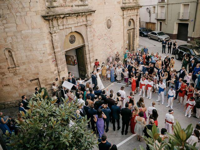 La boda de Christian y Lidia en Benabarre, Huesca 52