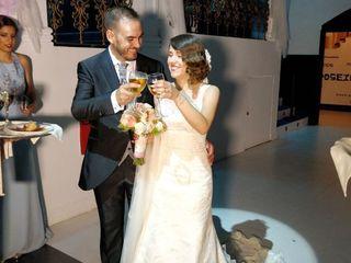 La boda de Nieves y Moisés