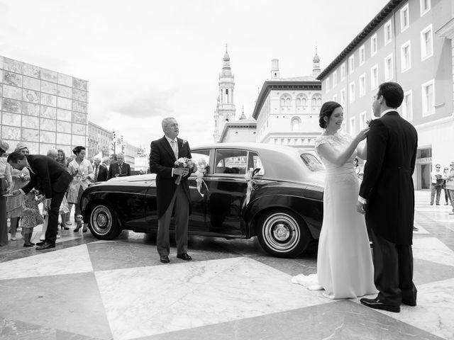 La boda de Óscar y María en Zaragoza, Zaragoza 6