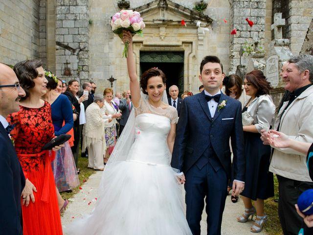 La boda de Toño y Virginia en Nogueira De Ramuin, Orense 41