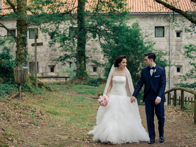 La boda de Toño y Virginia en Nogueira De Ramuin, Orense 43