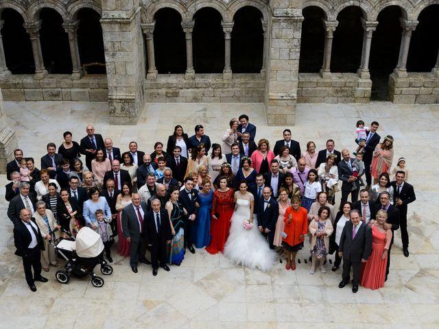 La boda de Toño y Virginia en Nogueira De Ramuin, Orense 49