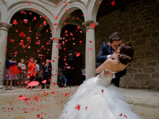 La boda de Virginia y Toño