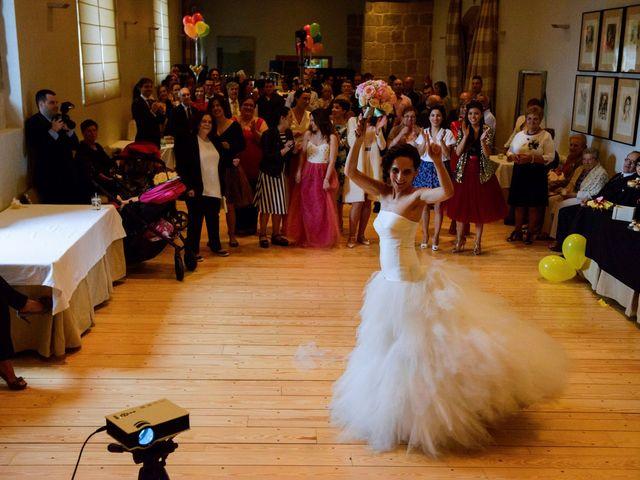 La boda de Toño y Virginia en Nogueira De Ramuin, Orense 71