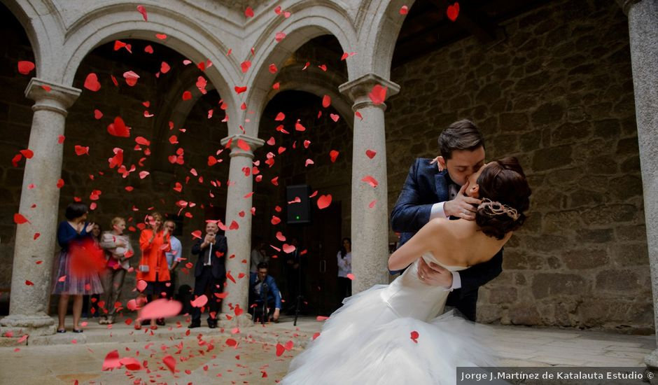 La boda de Toño y Virginia en Nogueira De Ramuin, Orense