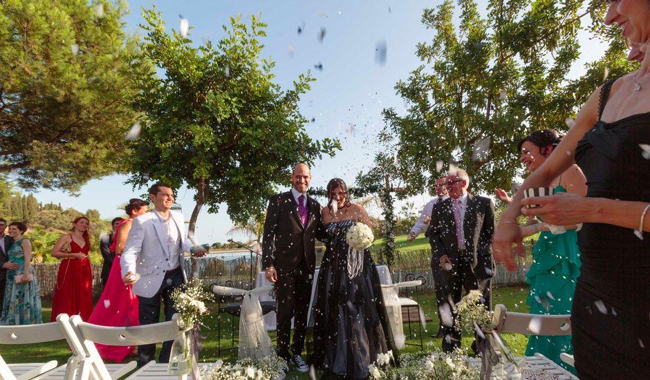 La boda de Pablo y Vanessa en Caleta De Velez, Málaga