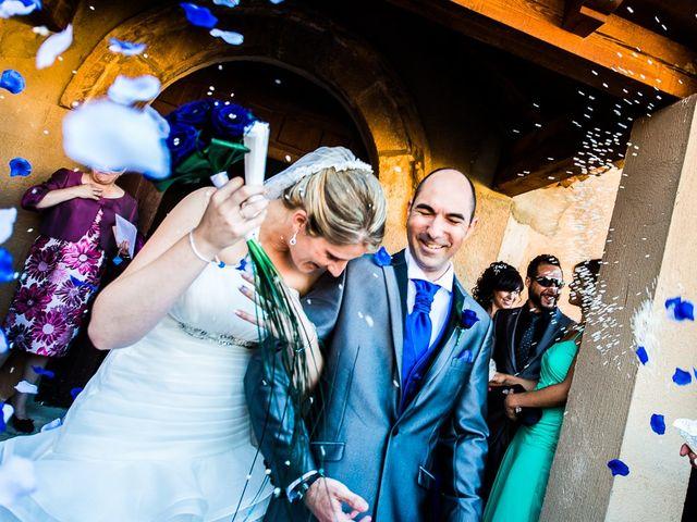 La boda de Javier y Irene en Berlanga De Duero, Soria 13