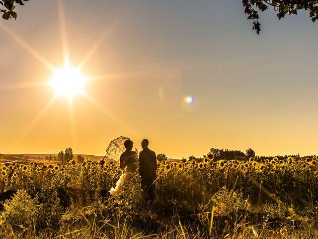 La boda de Javier y Irene en Berlanga De Duero, Soria 1