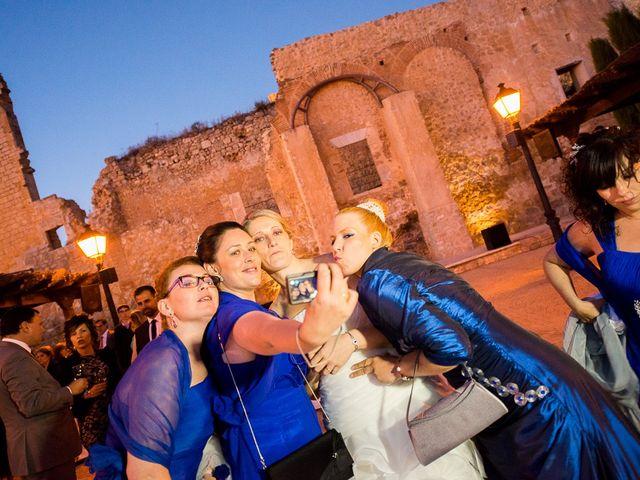 La boda de Javier y Irene en Berlanga De Duero, Soria 21