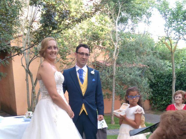 La boda de Eva y Juan en Aldehuela (Torrecaballeros), Segovia 1