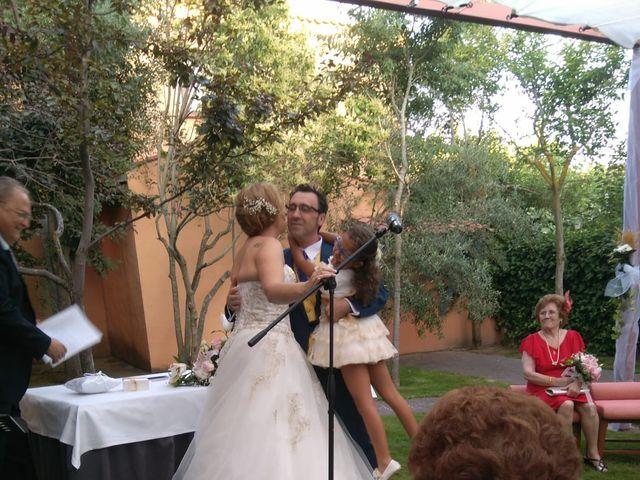 La boda de Eva y Juan en Aldehuela (Torrecaballeros), Segovia 4