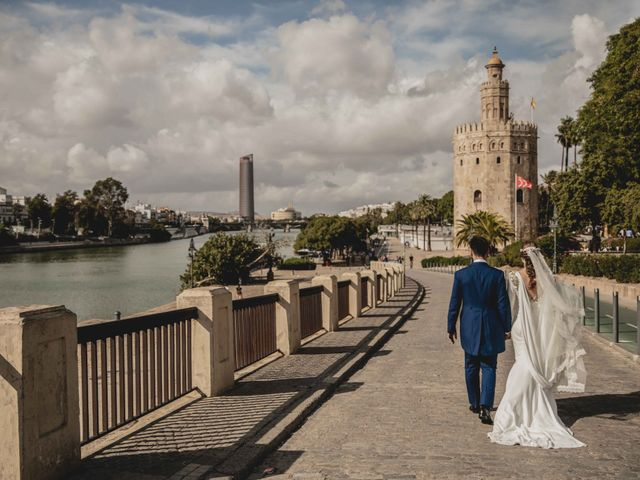 La boda de Juan y Marta en Salteras, Sevilla 91