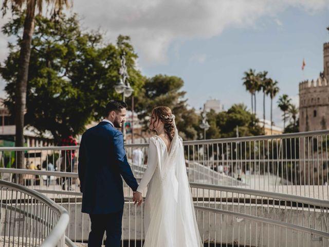 La boda de Juan y Marta en Salteras, Sevilla 100