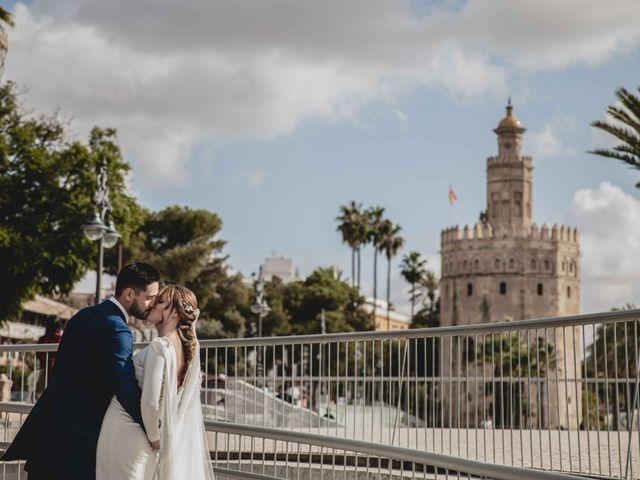 La boda de Juan y Marta en Salteras, Sevilla 101