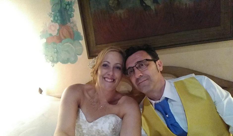 La boda de Eva y Juan en Aldehuela (Torrecaballeros), Segovia