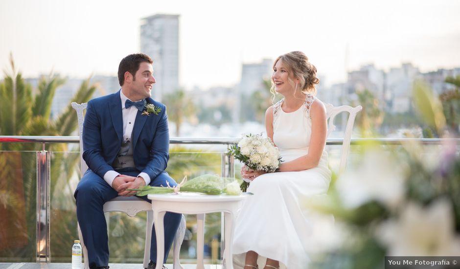 La boda de Sophie y Mario en Alacant/alicante, Alicante