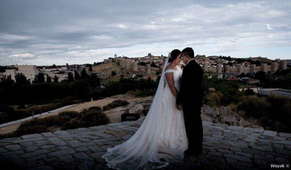 La boda de Sergio y Cristina en Ávila, Ávila