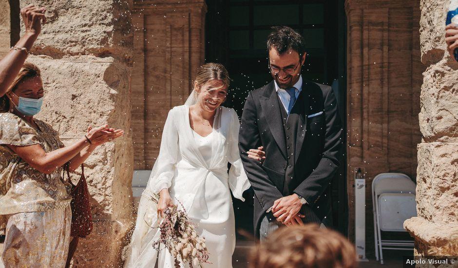 La boda de Ramón y María en El Cabo De Gata, Almería