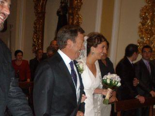 La boda de Santi y Miriam