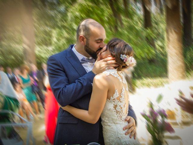 La boda de Marta y Hazma