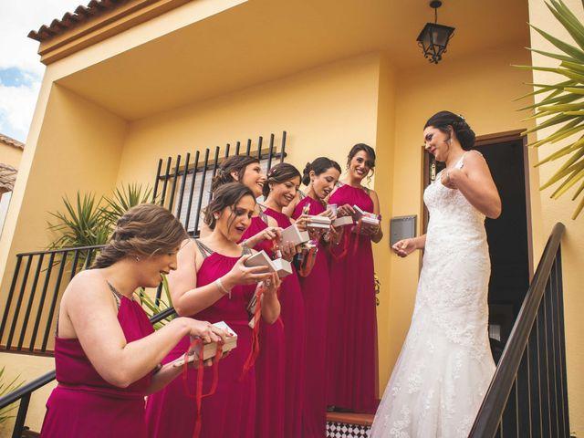 La boda de Sebastián y Ana María en Zafra, Badajoz 41