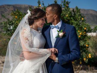 La boda de Isabel y Sador