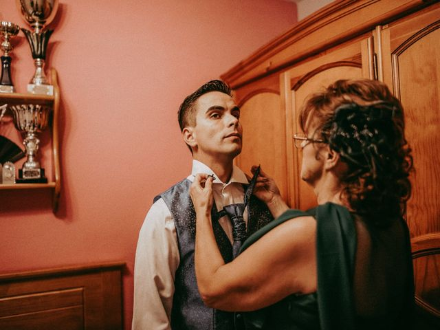 La boda de Jose y Maria Luz en Pueblo Castellanos De Villiquera, Salamanca 8