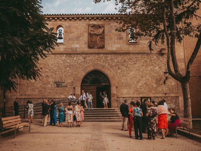 La boda de Jose y Maria Luz en Pueblo Castellanos De Villiquera, Salamanca 11