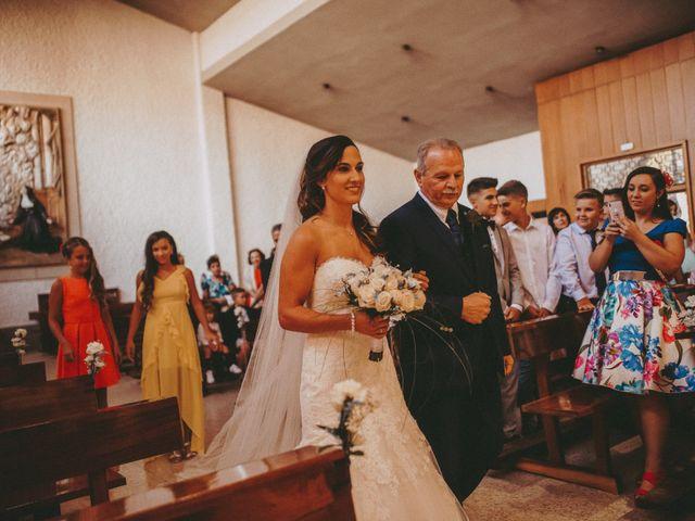 La boda de Jose y Maria Luz en Pueblo Castellanos De Villiquera, Salamanca 15