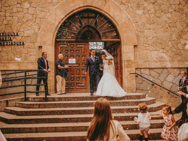 La boda de Jose y Maria Luz en Pueblo Castellanos De Villiquera, Salamanca 17