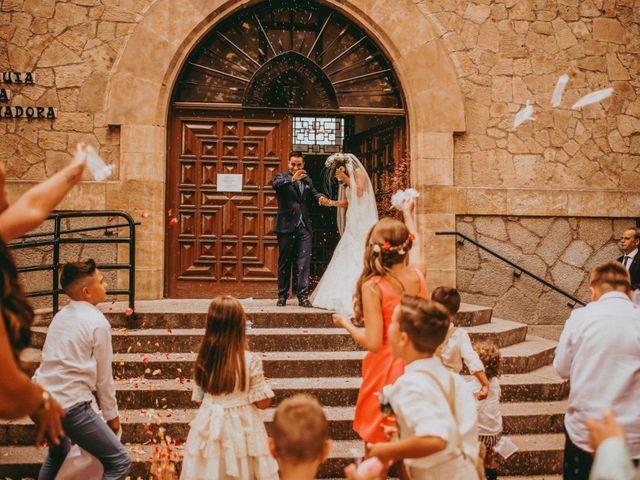 La boda de Jose y Maria Luz en Pueblo Castellanos De Villiquera, Salamanca 18