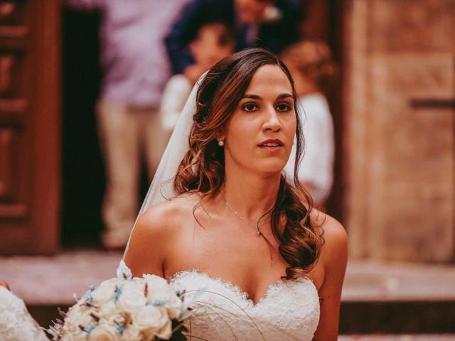 La boda de Jose y Maria Luz en Pueblo Castellanos De Villiquera, Salamanca 20