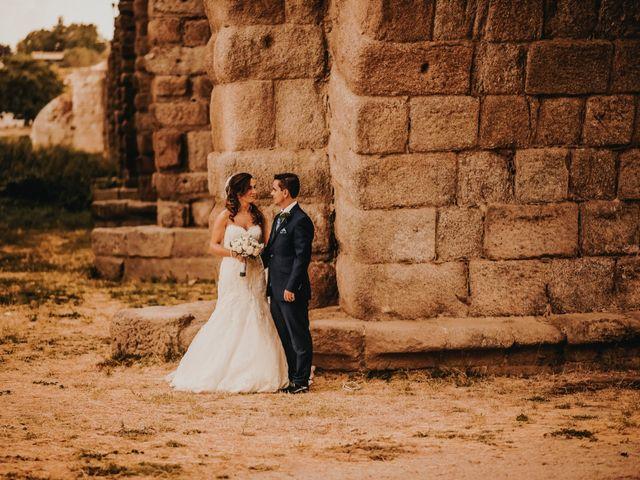 La boda de Jose y Maria Luz en Pueblo Castellanos De Villiquera, Salamanca 22