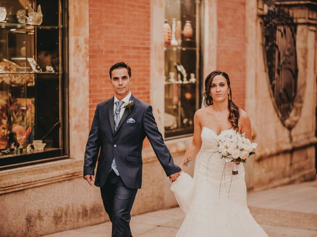 La boda de Jose y Maria Luz en Pueblo Castellanos De Villiquera, Salamanca 30