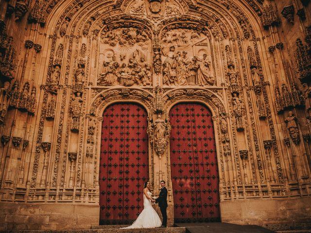 La boda de Jose y Maria Luz en Pueblo Castellanos De Villiquera, Salamanca 33