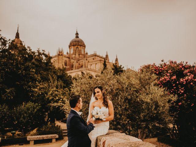 La boda de Jose y Maria Luz en Pueblo Castellanos De Villiquera, Salamanca 34