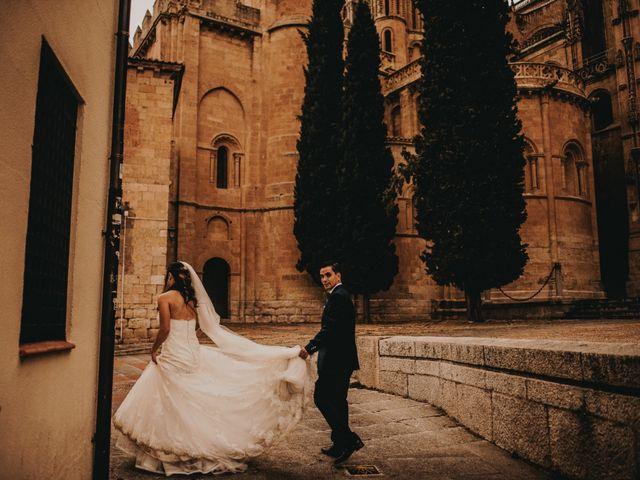 La boda de Jose y Maria Luz en Pueblo Castellanos De Villiquera, Salamanca 35
