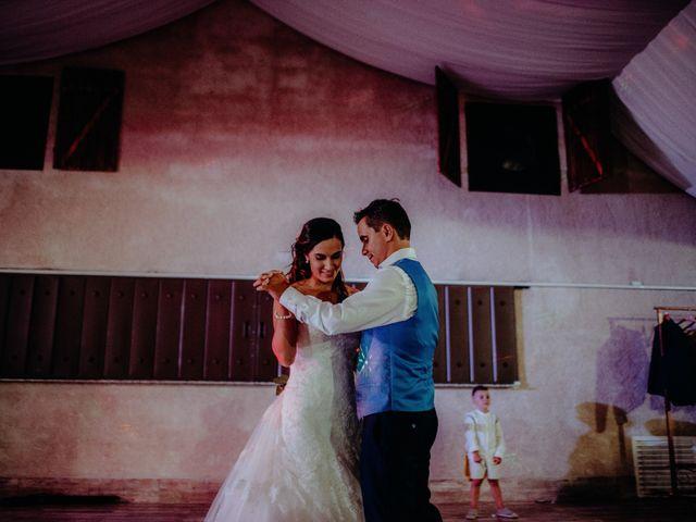 La boda de Jose y Maria Luz en Pueblo Castellanos De Villiquera, Salamanca 44