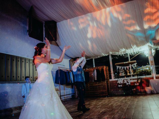 La boda de Jose y Maria Luz en Pueblo Castellanos De Villiquera, Salamanca 45