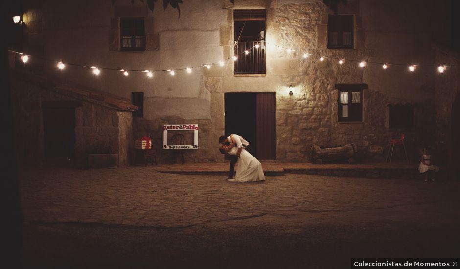 La boda de Pablo y Ester en Casserres, Barcelona