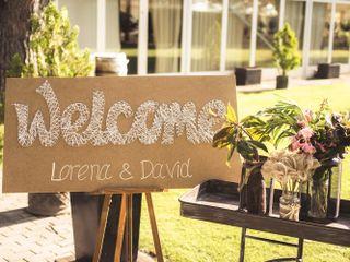 La boda de Lorena y David 1