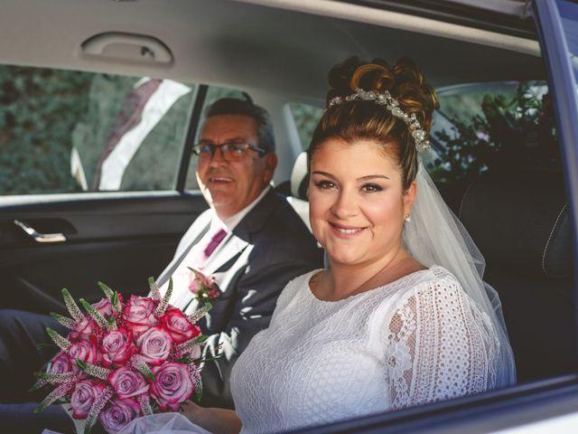 La boda de Francisco y Patricia en Villanueva Del Trabuco, Málaga 2