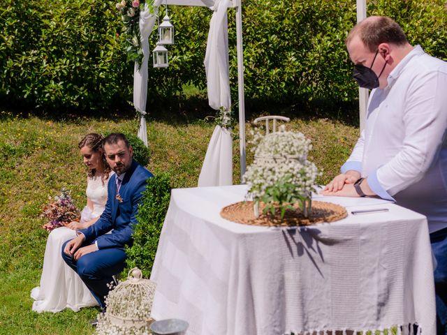 La boda de Jon y Judit en Quejana, Álava 40