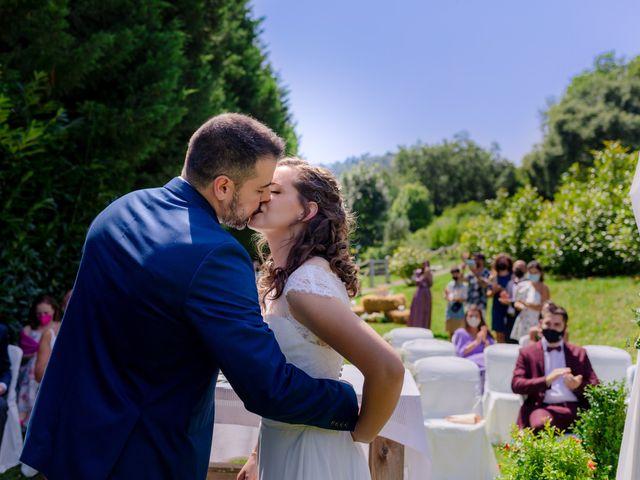 La boda de Jon y Judit en Quejana, Álava 44