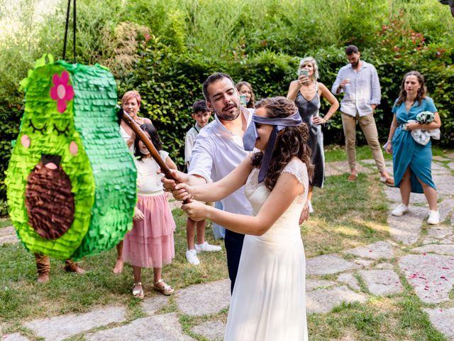 La boda de Jon y Judit en Quejana, Álava 61