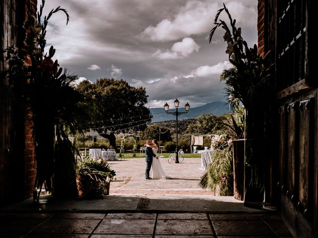 La boda de Jose y Lucía en Collado Villalba, Madrid 25