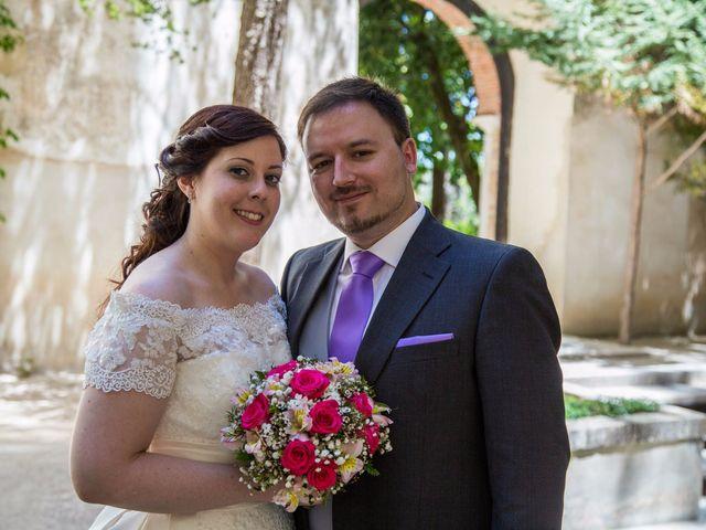 La boda de Alfonso y Esther en Lupiana, Guadalajara 15