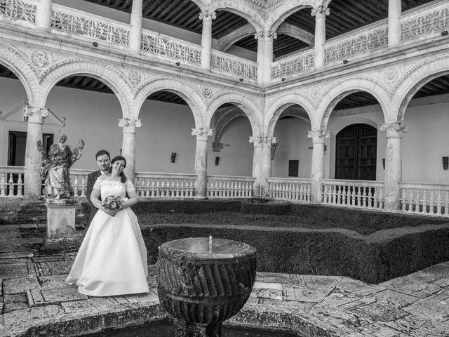 La boda de Alfonso y Esther en Lupiana, Guadalajara 1