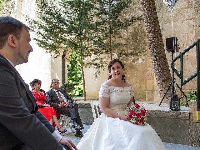 La boda de Alfonso y Esther en Lupiana, Guadalajara 34