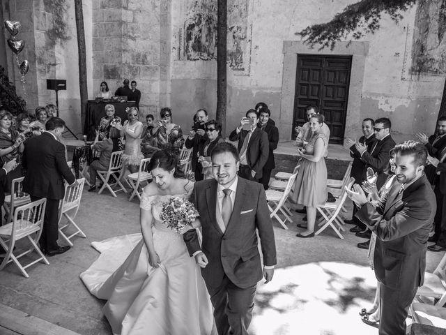 La boda de Alfonso y Esther en Lupiana, Guadalajara 39